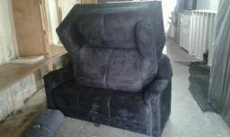 Jogo de sofá novo em nobuk!! #FRETE GRÁTIS