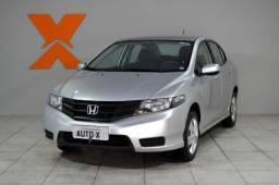 Honda CITY Sedan DX 1.5 Flex 16V Mec. - Prata - 2014 - 2014