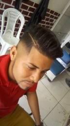 Procuro um barbeiro pra trabalhar