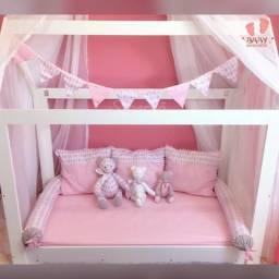 Kit enxoval cama montessoriana