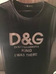 Camiseta Dolce & Gabbana Para pegar amanhã