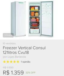 Freezer pequeno consul 110V