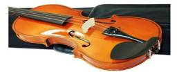 Violino Barth 4/4 NT - com Estojo Cr + Arco + Breu - Completo!