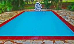Chácara em goiânia para o natal e outras datas com piscina e alojamentos 'Atras do hugol'