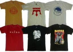 Camisetas no atacado masculinas em promoção