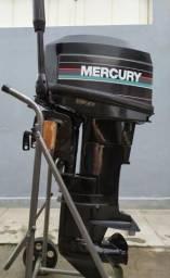 Motor de Popa Mercury 25hp - 1999