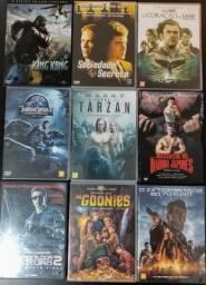 Varios titulos em DVD