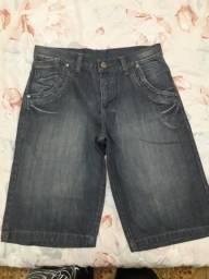 Bermuda Jeans Masculina. Nunca usada