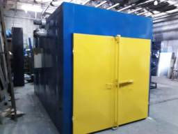 Estufa para pintura eletrostática