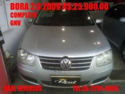 Bora 2.0,2009, Com gnv, muito novo, aceito troca e financio - 2009