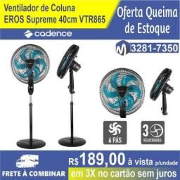 Ventilador de Coluna Cadence Ventilar Eros Supreme 40cm VTR865