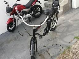 Bicicleta retrô BURNETT com cadeirinha Altmeyer *BARBADA