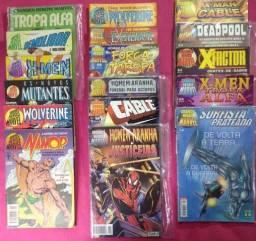 Formatinhos: Grandes Heróis Marvel (1983-2000) 17 Edições.