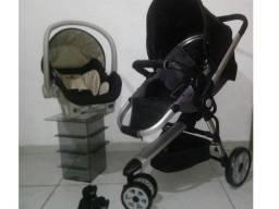 Carrinho Galzerano Triton com Bebê Conforto aceito cartao de credito