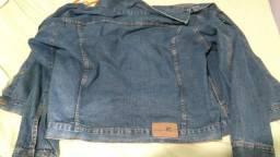 Jaqueta jeans top vendo e troco