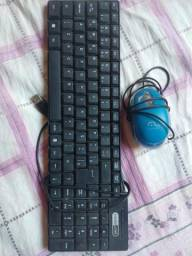 Teclado e mouse pc
