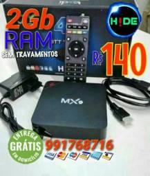 Promoção TV Box 4K 2Gb de RAM (entrega grátis)