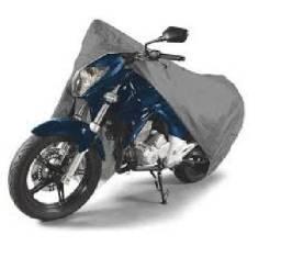 Capa Cobrir Moto Protetora Forrada Impermeável Anti Uv tamanho G (Leia o anúncio)