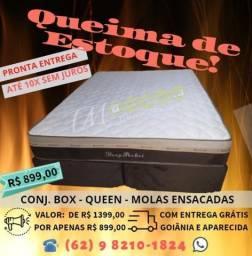 Promoção, Conj. Casal Sonata Black Queen Size Plumatex , 10x Sem juros comprar usado  Goiânia