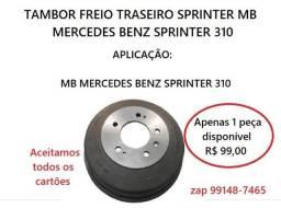 Tambor de Freio Mercedes Sprinter