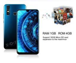"Xgody a70s 3g smartphone 7.2 ""android 9.0 1gb ram 4gb rom 5mp câmera quad core duplo"