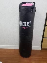 Saco Boxe Pancada Everlast Cardioblast Cheio