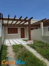 Casa Geminada c/2 dorm junto Av Caxias em Imbé