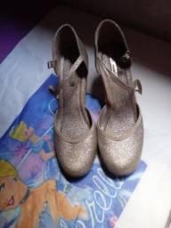 Sapato com Glitter