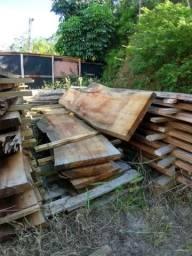 Pranchas de madeira (canela peroba)