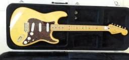 Fender Stratocaster Deluxe Player 1998 Honey Blonde Dimarzio Hs3 Hs4 Injector