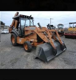 Retroescavadeira Case 580n 2012 4x2