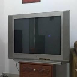 Tv Sony Trinitron 34 Polegadas - Kv-34fv15b - (Por favor leia o anuncio) comprar usado  Alumínio