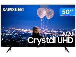 Smart TV Crystal UHD 4K LED 50? Samsung - 50TU8000 Wi-Fi Bluetooth HDR 3 HDMI 2 USB
