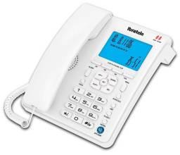 Telefone c/ visor lcd inbratele Branco