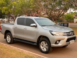 TOYOTA HILUX SRV DIESEL AUTOMÁTICA Ano 17/17