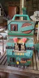 Maquinas e acessorios marcenaria(tupia/desempeno/soldadora serra/fresas)