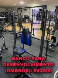 Banco pra desenvolvimento ombro