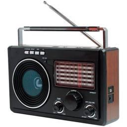 Radio regavegavel portatil am, fm, usb, sd