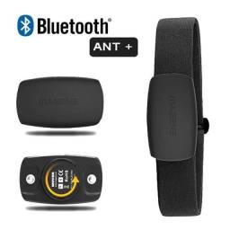 Cinta Cardíaca Monitor de Batimentos Cardíacos Bluetooh ANT+ Para GPS Bike