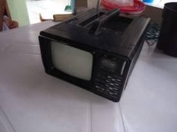 Tv portátil mec jy9102a (relíquia)