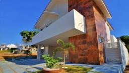 Sobrado 4 Suítes, 340 m² c/ lazer no Condomínio Mirante do Lago