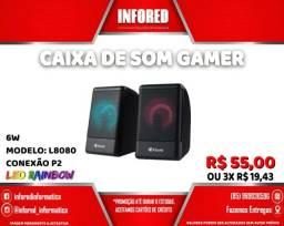 Título do anúncio: Caixa de Som Gamer  L8080 - R$55,00