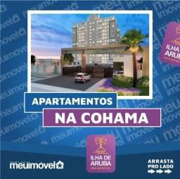 [104] Ilha de Aruba, apartamentos com 2 quartos, 45 m² - Cohama