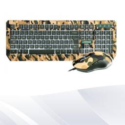 teclado e mouse gamer warrior kyller