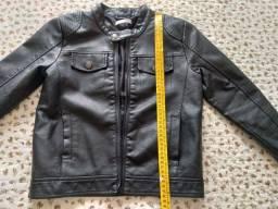 Título do anúncio: Jaqueta de couro infantil 6/9 anos