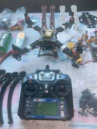 Drone F330 Montado Mais Frame F440 E Várias Peças