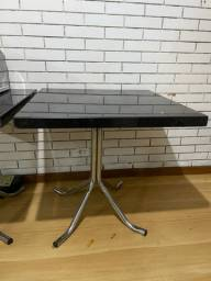 Título do anúncio: Duas mesas granito pé em inox