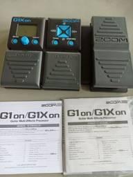 Pedaleira G1Xon Zoom para guitarra