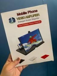 Título do anúncio: Ampliador de imagem do celular 3d Home cinema (Novo)