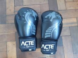 Título do anúncio: Luvas de boxe (marca ACTE DRAGON) +bandagem 3m vollo
